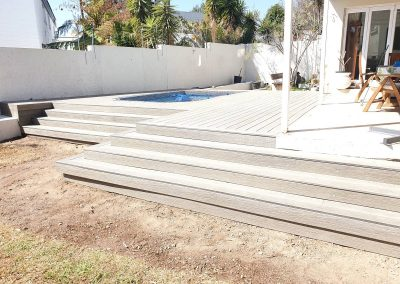 Sandstone Composite Decking